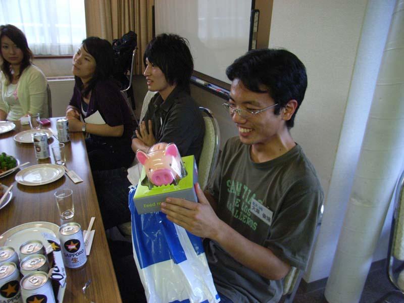 大澤君、嬉しそう?
