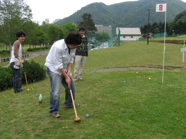 ディベートはMVPだったけど、パークゴルフは…?